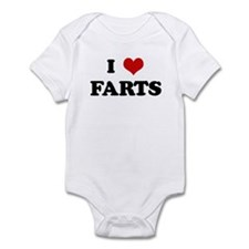 I Love FARTS Infant Bodysuit