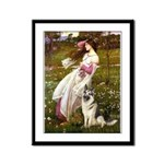 Windflowers / G-Shep Framed Panel Print
