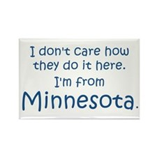 From Minnesota Rectangle Magnet