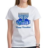 Menorah and Gifts Tee