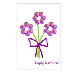 Happy Birthday Postcards (Package of 8)