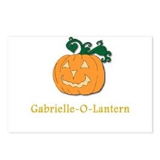 Gabrielle-O-Lantern Postcards (Package of 8)