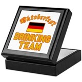 Oktoberfest Drinking Team Keepsake Box