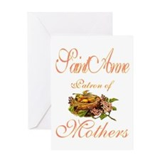 St. Anne Greeting Card