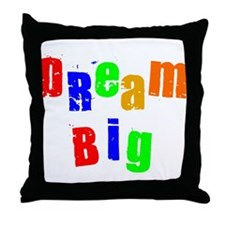 Scott Designs Dream Big Throw Pillow