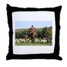 Fox Hunt -- Throw Pillow