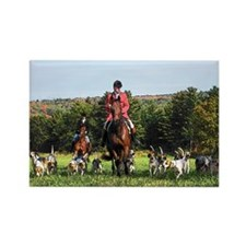 Fox Hunt -- Rectangle Magnet (10 pack)