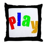 Scott Designs Play Throw Pillow