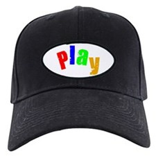 Scott Designs Play Baseball Hat