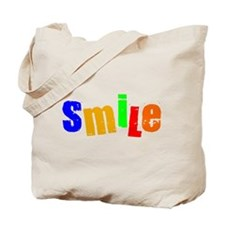 Scott Designs Smile Tote Bag