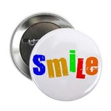 "Scott Designs Smile 2.25"" Button (100 pack)"