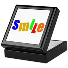 Scott Designs Smile Keepsake Box