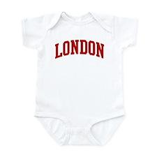LONDON (red) Infant Bodysuit
