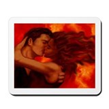 Hot Kiss Mousepad