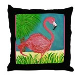 Cute Beach Throw Pillow