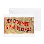 Flat Kansas Greeting Cards (Pk of 20)