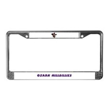 Ozark Hillbilly License Plate Frame