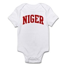 NIGER (red) Infant Bodysuit