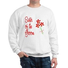 Bouquet Groom's Sister Sweatshirt