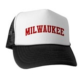 MILWAUKEE (red) Trucker Hat