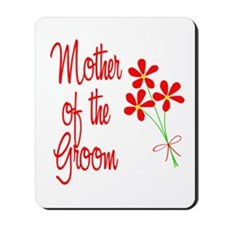 Bouquet Groom's Mom Mousepad