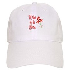 Bouquet Groom's Mom Baseball Cap