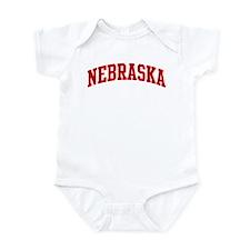 NEBRASKA (red) Infant Bodysuit