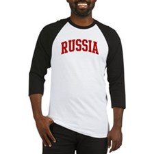 RUSSIA (red) Baseball Jersey