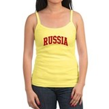 RUSSIA (red) Tank Top