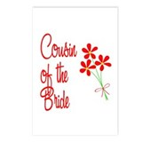 Bouquet Bride's Cousin Postcards (Package of 8)