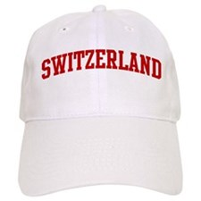 SWITZERLAND (red) Baseball Cap