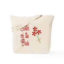 Bouquet Bride's Sister Tote Bag