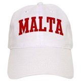MALTA (red) Baseball Cap