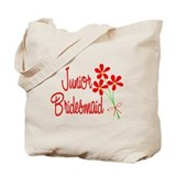 Bouquet Junior Bridesmaid Tote Bag