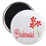 Bouquet Bridesmaid Magnet