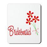 Bouquet Bridesmaid Mousepad