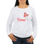 Bouquet Bridesmaid Women's Long Sleeve T-Shirt