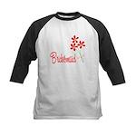 Bouquet Bridesmaid Kids Baseball Jersey