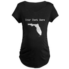 Florida Silhouette (Custom) Maternity T-Shirt