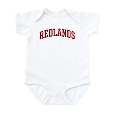 REDLANDS (red) Infant Bodysuit