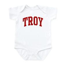 TROY (red) Infant Bodysuit