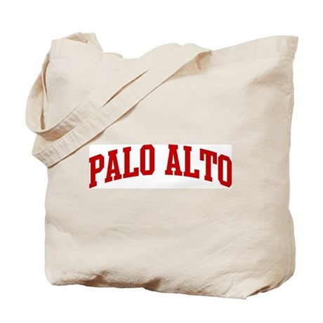 PALO ALTO (red) Tote Bag