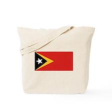 East Timor Flag Tote Bag