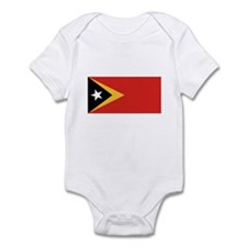 East Timor Flag Infant Bodysuit