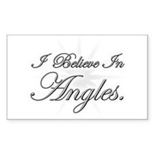 Angles Rectangle Decal