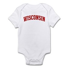 WISCONSIN (red) Infant Bodysuit