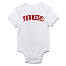 YONKERS (red) Infant Bodysuit