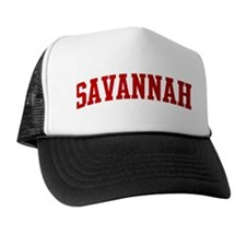 SAVANNAH (red) Trucker Hat