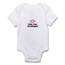 Kiss Your Grasshopper Infant Bodysuit