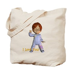 I Love You - Kevin Tote Bag